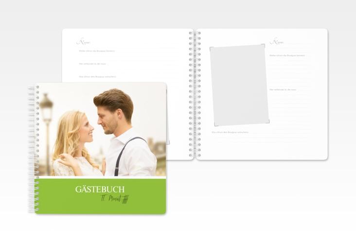 """Gästebuch Hochzeit """"Balance"""" Ringbindung"""