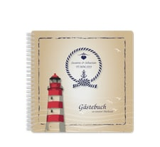 """Gästebuch Hochzeit """"Sylt"""""""