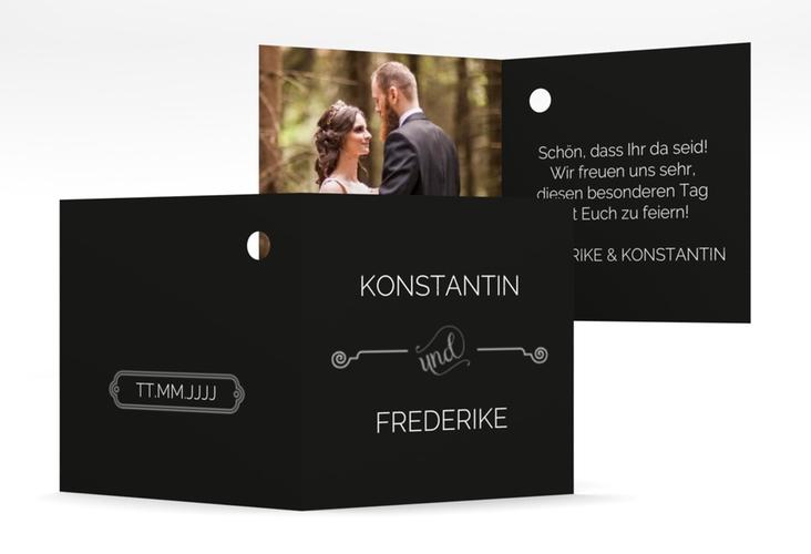 """Geschenkanhänger Hochzeit """"Bones"""" Geschenkanhänger 10er Set"""