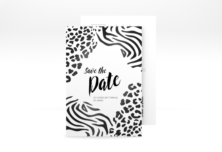 "Save the Date-Postkarte ""Wild"" A6 Postkarte"