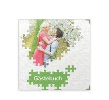 "Gästebuch Selection Hochzeit ""Puzzle"""