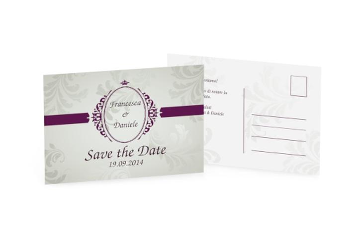 Biglietti Save the Date collezione Farfa A6 Postkarte