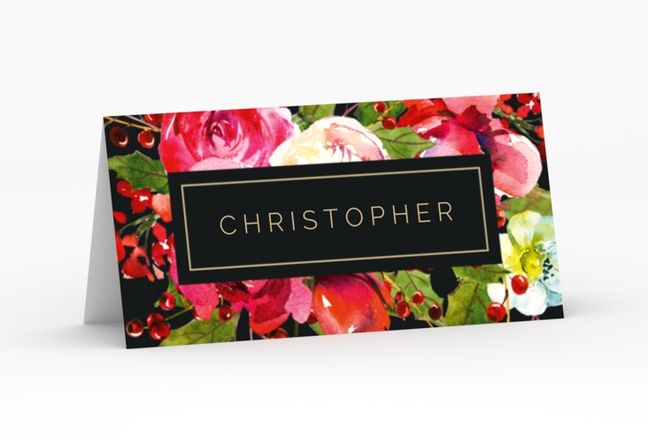 """Tischkarte Hochzeit """"Blumenpracht"""" Tischkarten"""