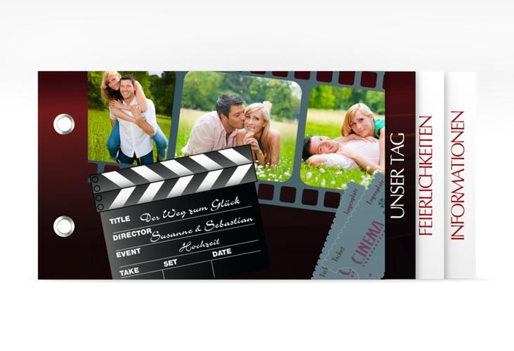 """Hochzeitseinladung """"Bottrop"""" Booklet"""
