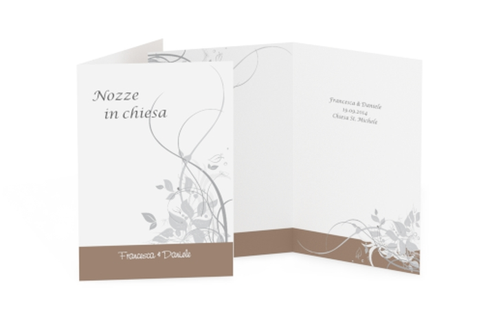 Libro messa matrimonio collezione Firenze DIN A5 geklappt