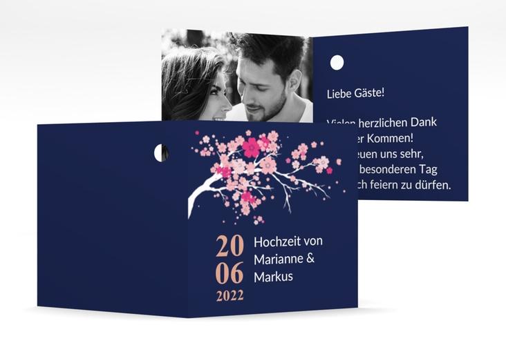 """Geschenkanhänger Hochzeit """"Sakura"""" Geschenkanhänger 10er Set"""