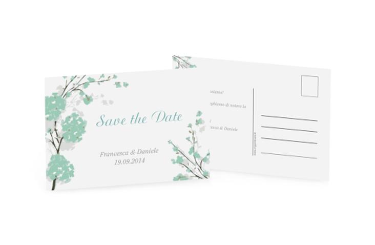Biglietti Save the Date collezione Salerno A6 Postkarte