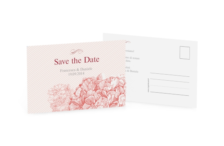 Biglietti Save the Date collezione Marbella A6 Postkarte