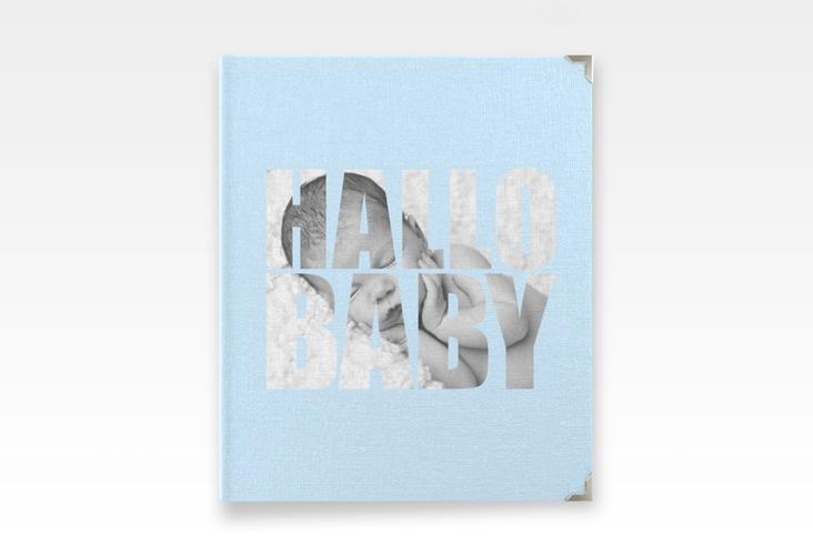 "Baby Fotoalbum ""Wunderlich"" 21 x 25 cm blau"