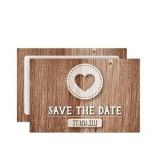 "Save the Date-Karte ""Flair"""