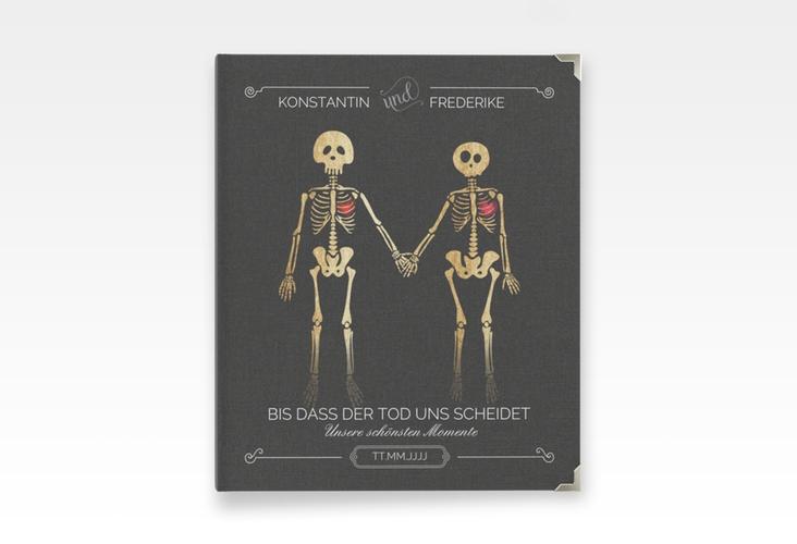 """Hochzeitsalbum """"Bones"""" 21 x 25 cm"""