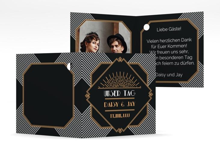 """Geschenkanhänger Hochzeit """"Gatsby"""" Geschenkanhänger 10er Set"""