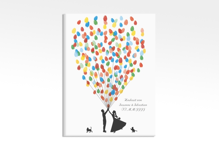 Wedding Tree – Ballons Beatrice Cat bis zu 80 Gäste 30x40 cm 30 x 40 cm