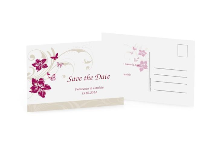 Biglietti Save the Date collezione Parma A6 Postkarte