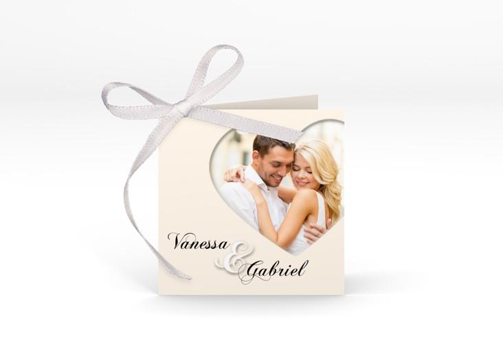 """Geschenkanhänger Hochzeit """"Sweetheart"""" Geschenkanhänger 10er Set beige"""