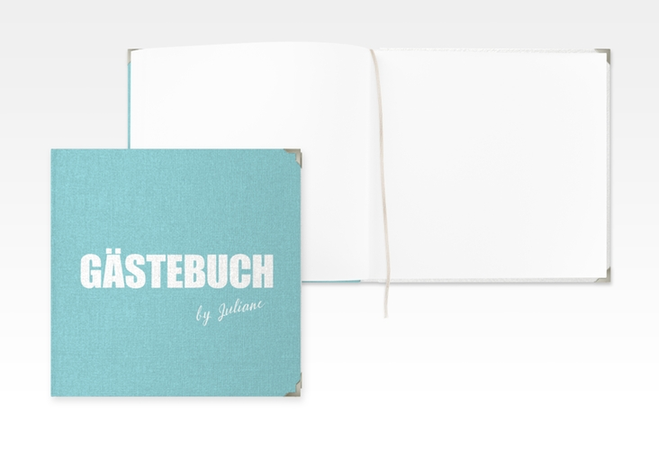 "Gästebuch Selection Geburtstag ""Zig"" Hardcover tuerkis"