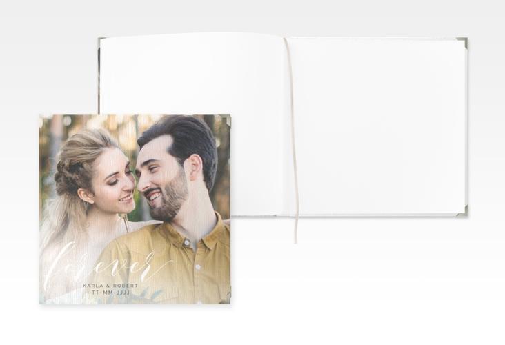 "Gästebuch Selection Hochzeit ""Promise"" Leinen-Hardcover weiss"