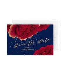 "Save the Date-Postkarte ""Cherie"""