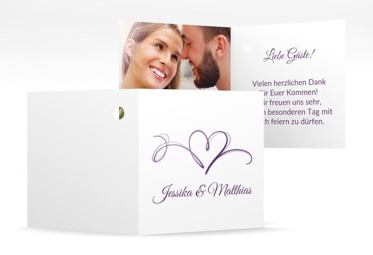 """Geschenkanhänger Hochzeit """"Envie"""" Geschenkanhänger 10er Set lila"""