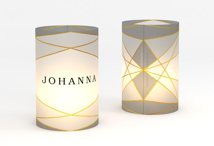 """Windlicht Hochzeit """"Geometric"""" Windlicht"""