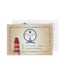 """Antwortkarte Hochzeit """"Sylt"""""""