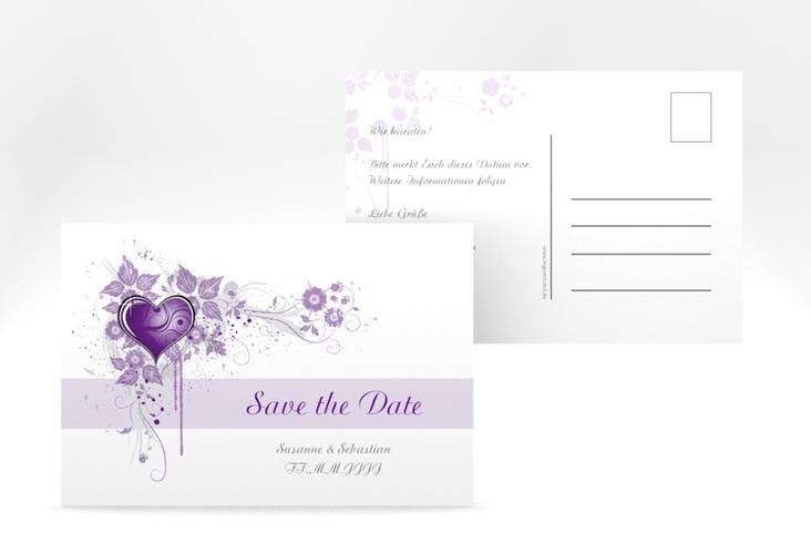 """Save the Date-Postkarte """"Triest"""" A6 Postkarte"""