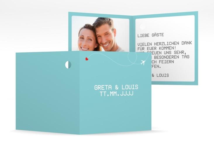 """Geschenkanhänger Hochzeit """"Weddingpass"""" Geschenkanhänger 10er Set blau"""