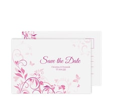 """Save the Date-Postkarte """"Lilly"""""""