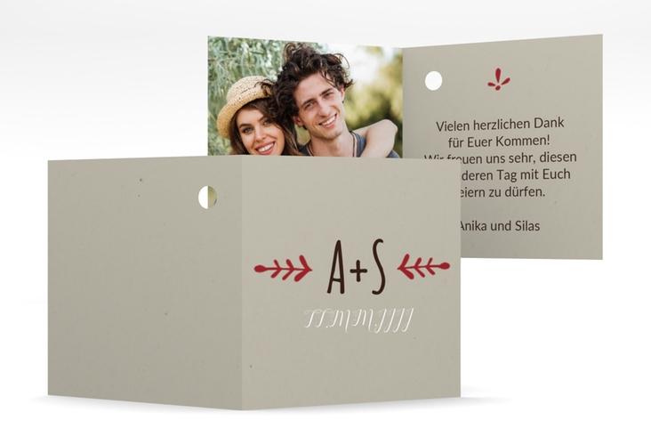 """Geschenkanhänger Hochzeit """"Eden"""" Geschenkanhänger 10er Set"""