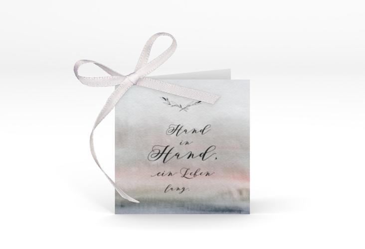 """Geschenkanhänger Hochzeit """"Divine"""" Geschenkanhänger 10er Set grau"""
