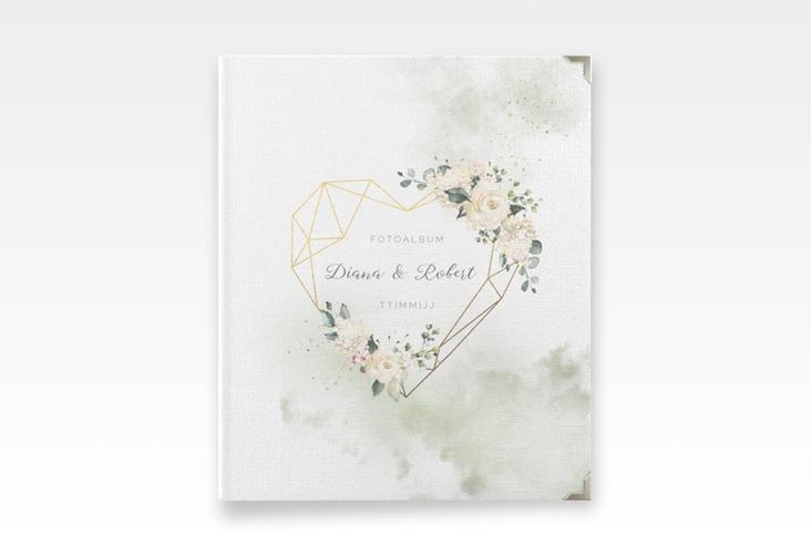 """Hochzeitsalbum """"Adore"""" 21 x 25 cm gruen"""
