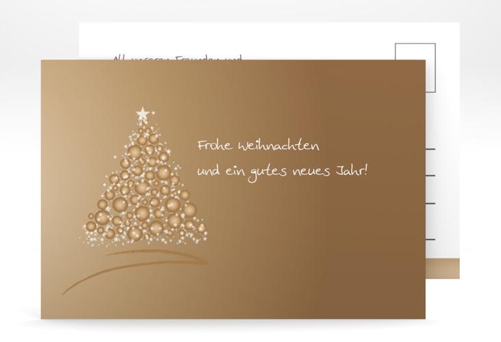 "Weihnachtskarte ""Edel"" A6 Postkarte"