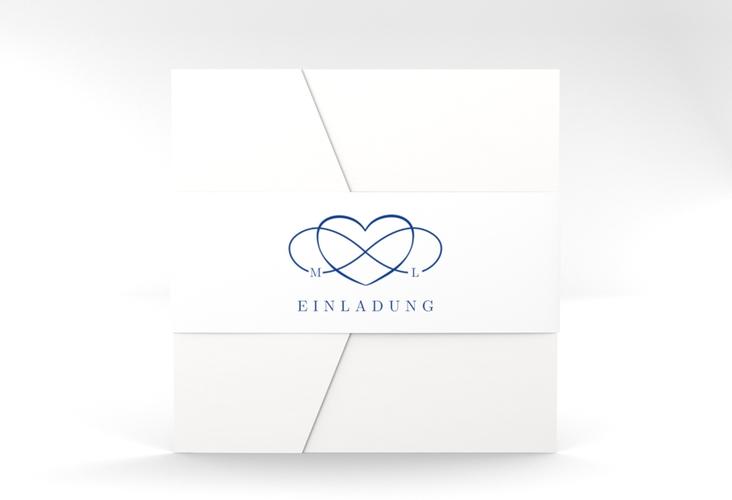 """Hochzeitseinladung """"Infinity"""" Pocketfold"""