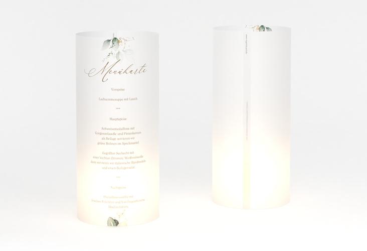 """Windlicht Menü Hochzeit """"Selvatica"""" Windlicht weiss"""