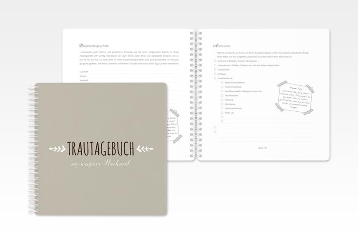 """Trautagebuch Hochzeit """"Eden"""" Trautagebuch Hochzeit weiss"""