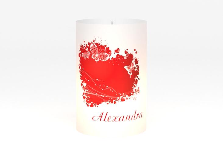 """Windlicht Hochzeit """"Mailand"""" Windlicht rot"""