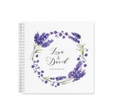 """Gästebuch Hochzeit """"Lavendel"""""""