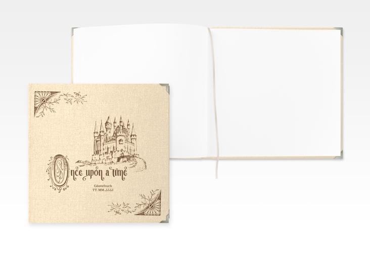 """Gästebuch Selection Hochzeit """"Storybook"""" Leinen-Hardcover"""