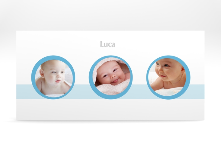 "Geburtskarte ""Precious"" DIN lang"