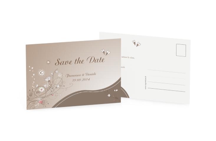 Biglietti Save the Date collezione Taranto A6 Postkarte