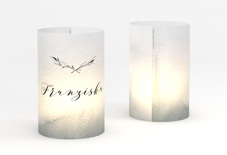 """Windlicht Hochzeit """"Divine"""" Windlicht schwarz"""