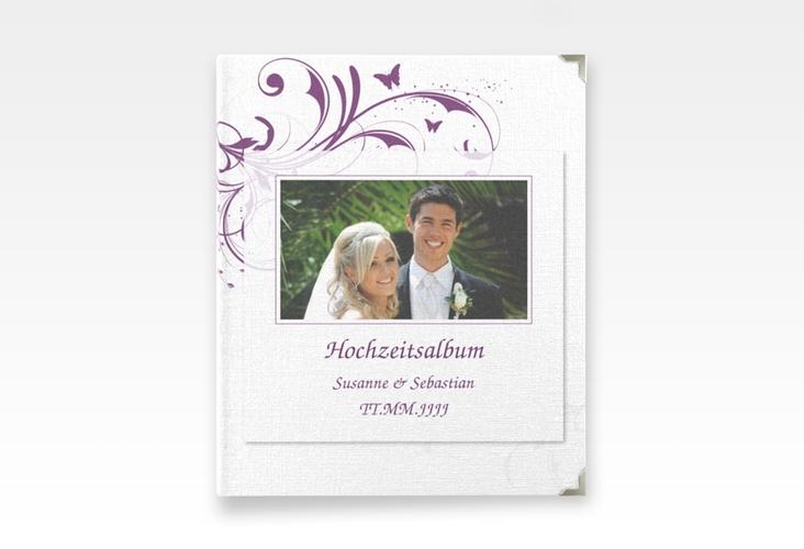 """Hochzeitsalbum """"Palma"""" 21 x 25 cm lila"""