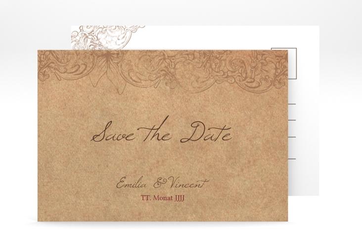 "Save the Date-Postkarte ""Fairytale"" A6 Postkarte"