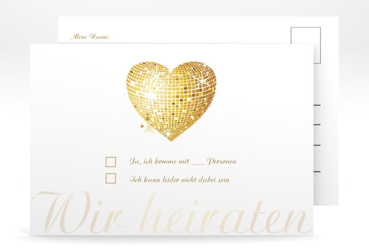 "Antwortkarte Hochzeit ""Rimini"" A6 Postkarte"