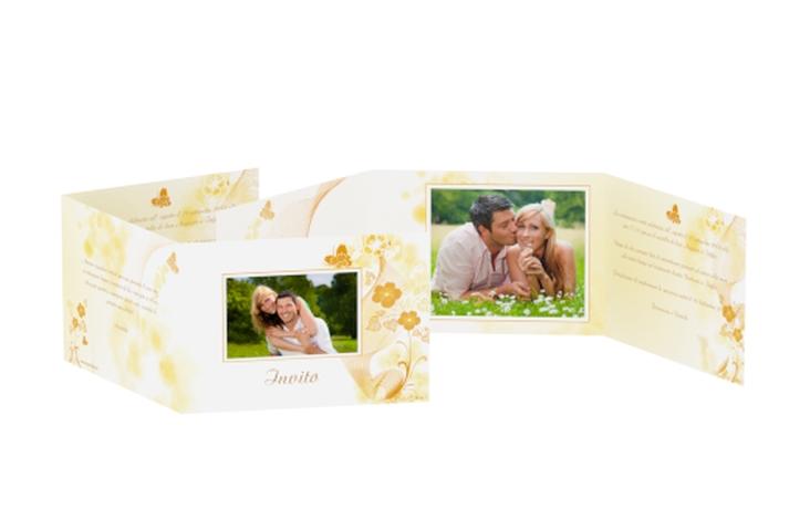 Inviti matrimonio collezione Ravenna A6 doppelt geklappt