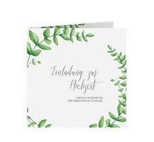 """Hochzeitseinladung """"Botanic"""""""
