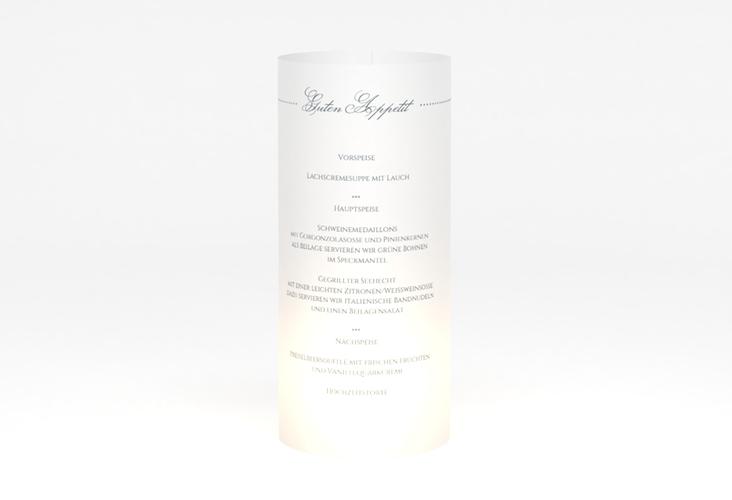 """Windlicht Menü Hochzeit """"Pure"""" Windlicht"""