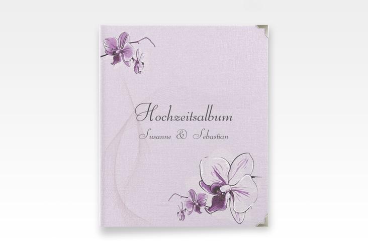 """Hochzeitsalbum """"Modena"""" 21 x 25 cm lila"""