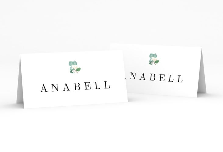 """Tischkarte Hochzeit """"Greens"""" Tischkarten"""