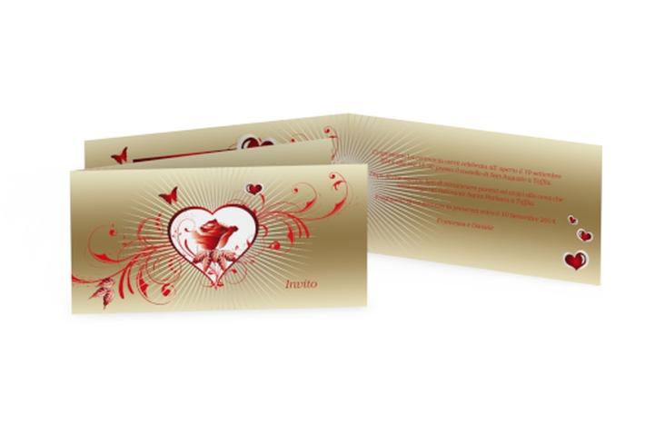 Inviti matrimonio collezione Bari DIN lang Klappkarte